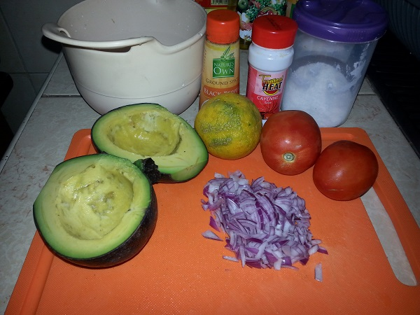 Guacamole, Recipe