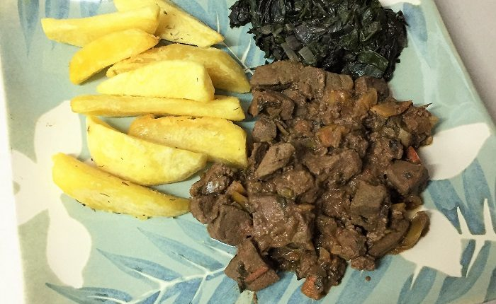 Basic Dish Spiced Up: Fried Liver Inspired by Kaluhi's Kitchen